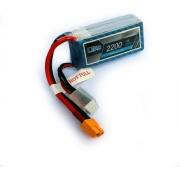 Bateria Lipo Ultra 2200mah 11.1v 3s 30c Xt60 Airsoft Drone