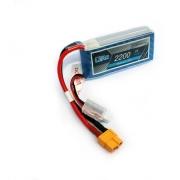 Bateria Lipo Ultra 2200mah 7.4v 2s 30c Xt60 Airsoft Drone
