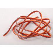 Cabo Flat 26awg Servo Wire 1mtr - Fio Para Extensão de Servo