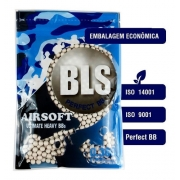 Munição Airsoft Bls Bbs 6mm 0.36g 1000un Pacote Esferas F-BBS36