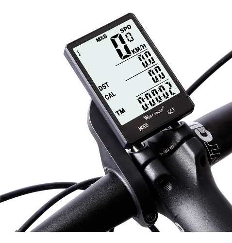 Velocimetro Bicicleta Digital Sem Fio Ciclo Computador Mtb