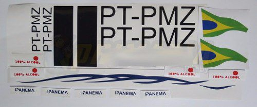 Kit Decals Ipanema 100cm