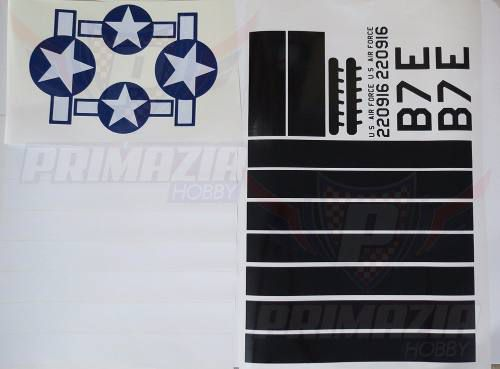 Kit Decals P-51 120cm