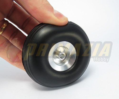 Roda De Borracha 76mm 3Pol