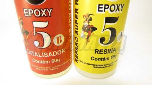 Cola Epoxy 5 minutos 120 gramas