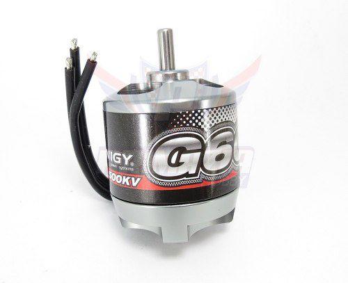 Motor Turnigy G60 Brushless Outrunner 500kv