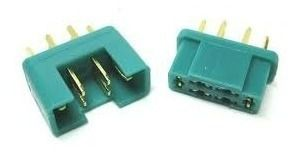 Conector Mpx Multiplex Macho / Femea 6 vias