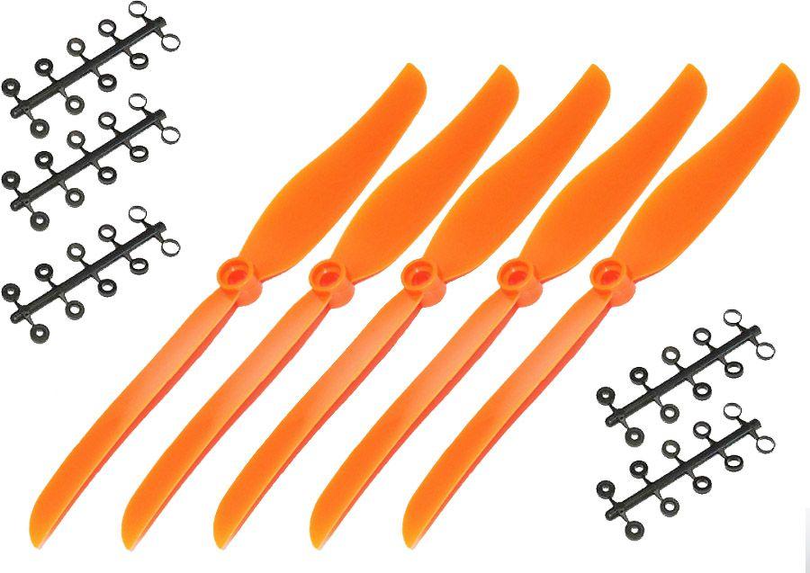 5 Unidades - Helice 8x6 Eletricos Gws Style