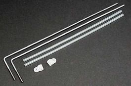 Dubro Heavy Duty Strip Aileron Horn Set 1/8 Pol - Dub558