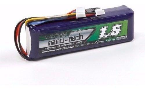 Bateria Life 1500mah 3s 9.9v 1c Turnigy / Jr / Hobbyking 9x 9xr