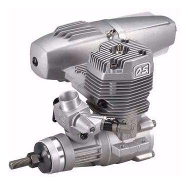 Motor OS 55AX ABL Glow com Muffler e Vela - OSM15612