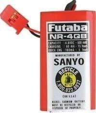 Bateria Futaba NR4QB RX NICD SQ 4.8v 600mah Receiver
