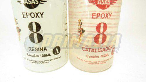 Cola Epoxy 8 minutos 200 gramas