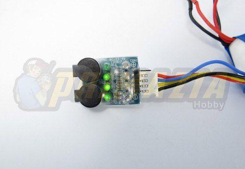 Alarme De Bateria Lipo Buzzer 2s 3s 4s