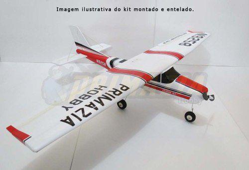 Kit Aeromodelo Cessna 182 150cm - Para Montar