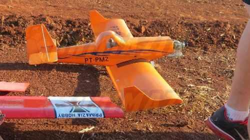 Kit P/ Montar Aeromodelo Ipanema 140cm Isopor Depron + Decal
