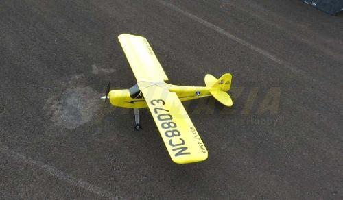 Kit Aeromodelo Piper J3 Para Montar P3 Treinador + Decals