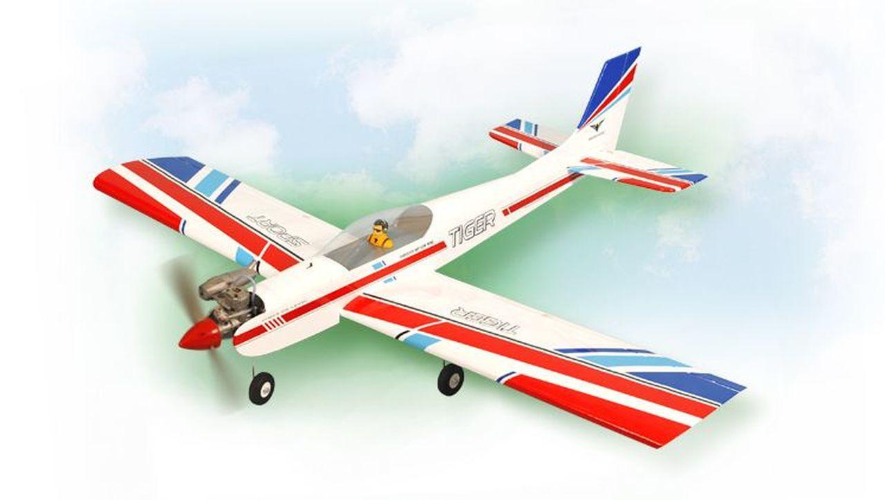 Aeromodelo Phoenix Tiger 3 Asa Baixa 46-55 Arf - PH036