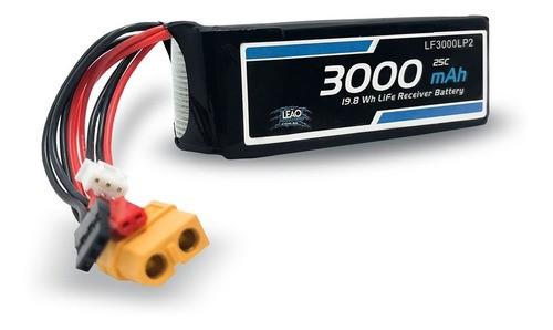 Bateria Life 6.6v 2s 3000mah 25c Futaba Jst Xt60 Receptor