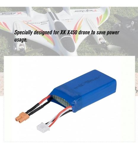 Bateria Lipo 1000mah 11.1v Drone Wltoys X450 Xt30