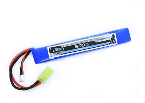 Bateria Lipo 11.1v 3s(1 Pack) - 1300mah - 20c/40c - Airsoft