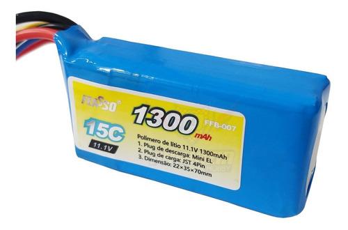- Bateria Lipo 1300mah 3s 11.1v 15c Airsoft Aeg Amoeba Am013 FFB-007