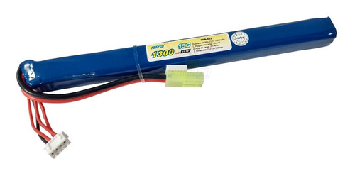 Bateria Lipo 1300mah 3s 11.1v 15c Airsoft Aeg Rifle FFB-023