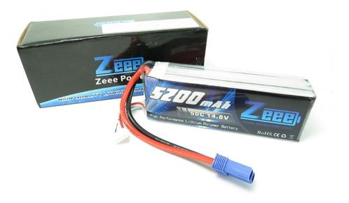 Bateria Lipo 5200mah 14.8v 4s 50c Aeromodelos Automodelos