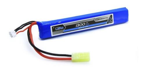 Bateria Lipo 7.4v 2s 1 Pack 1300mah 20c/40c Airsoft