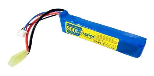 Bateria Lipo Airsoft 900mah 3s 11.1v 15c Aeg Auto Aeromodelo FFB-005