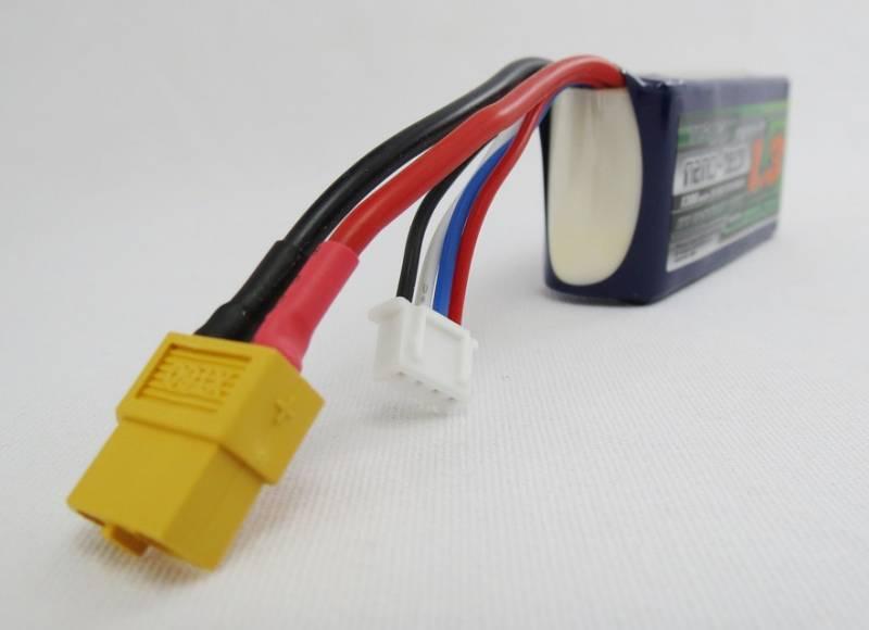 Bateria LIPO Turnigy Nanotech 1300mah 25-50c 3s 11,1v