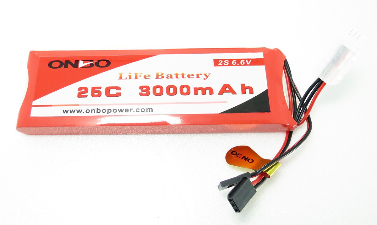Bateria Onbo Power Life 3000mah 2s 6.6v 25c