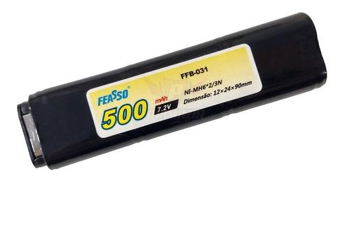 Bateria Pistola Aep Airsoft Ni-mh 7.2v 500mah Feasso Ffb-031