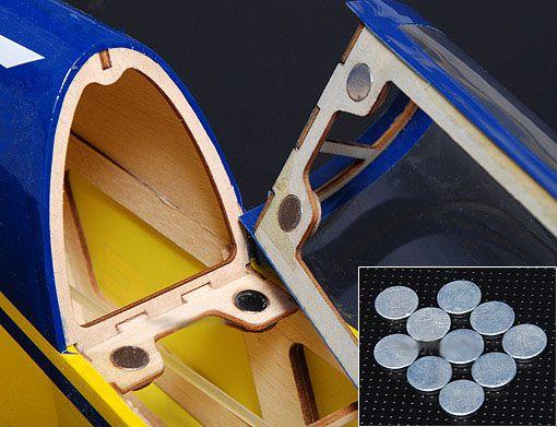 Botão Magnetico trava Canopy / Capo - 2 un.