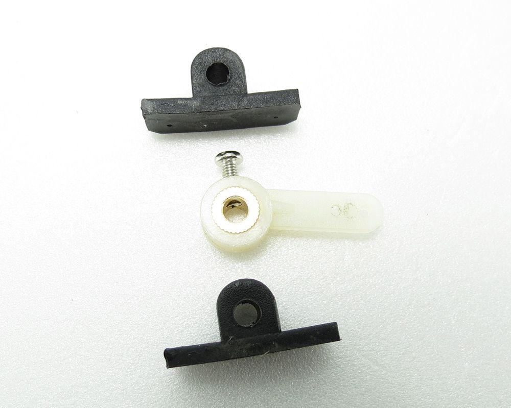 Braço e Suporte Para Bequilha Dianteira Eixo 3mm / 4mm