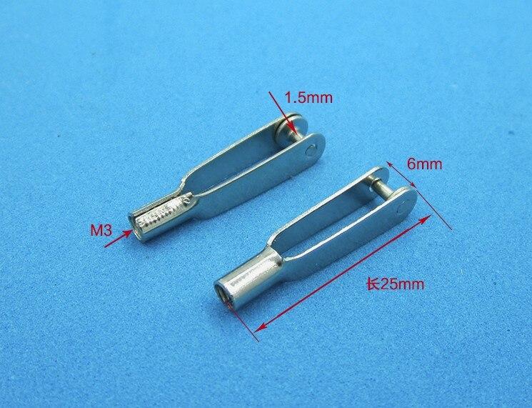 Clevi de Metal M3 x 25mm - Unidade