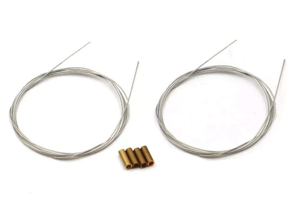 Kit Arame Pull Pull Steel Wire Control Set - 0.8mm