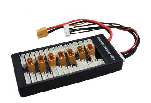 Placa Para Carregar Até 6 Baterias No L6ac B6ac Plug Xt60
