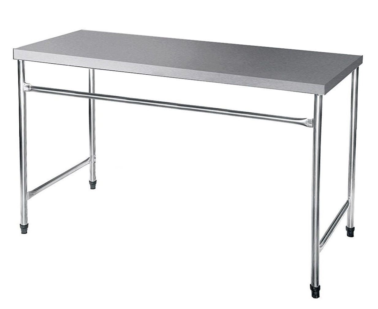 Bancada / Mesa Em Aço Inox (120x60x85)