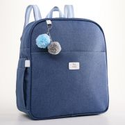 Mochila Maternidade Color Azul Hey Baby