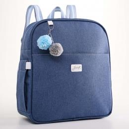 Mochila Maternidade Térmica Color Azul