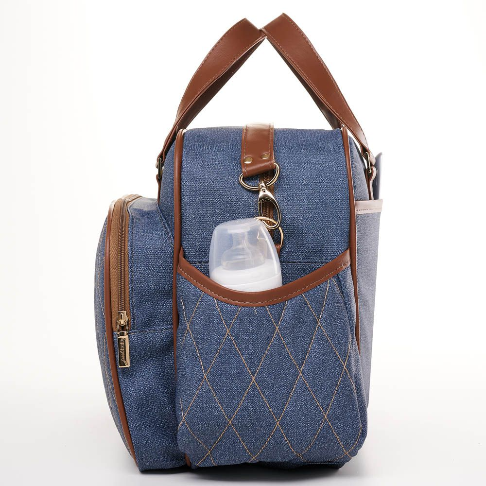 BOLSA MATERNIDADE CHICAGO JEANS JUST BABY