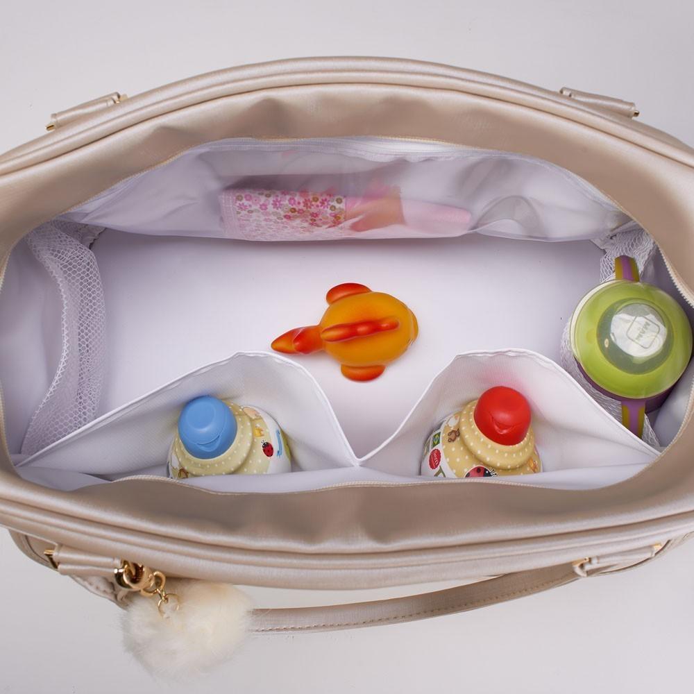 Bolsa Maternidade Siena Bege