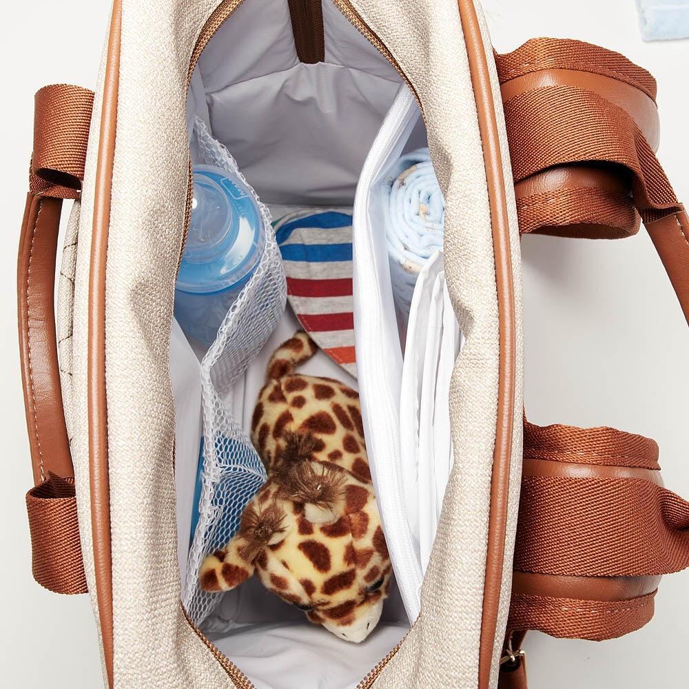Mochila multifuncional Maternidade Chicago Jeans