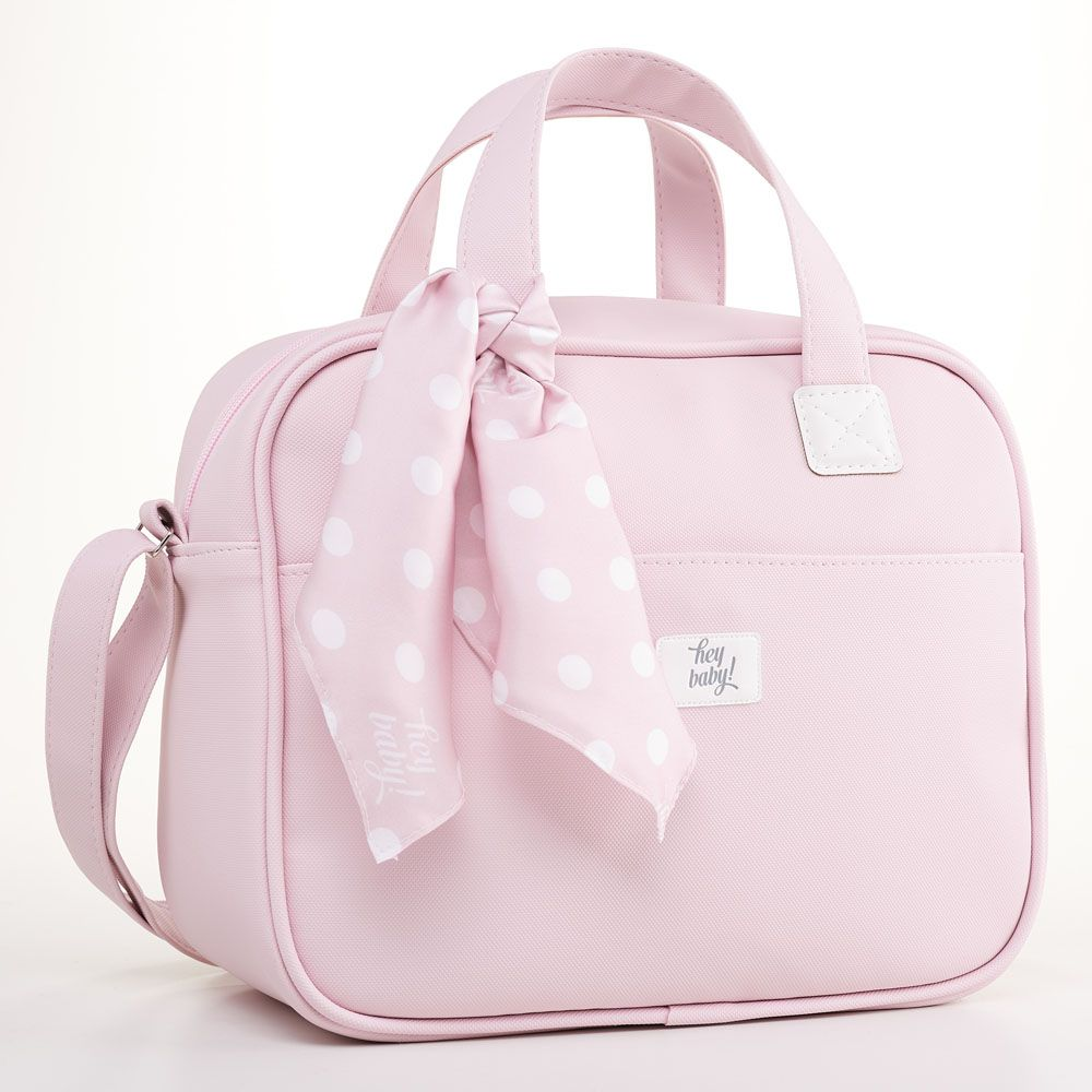 Bolsa Maternidade Térmica Pequena Candy Rosa
