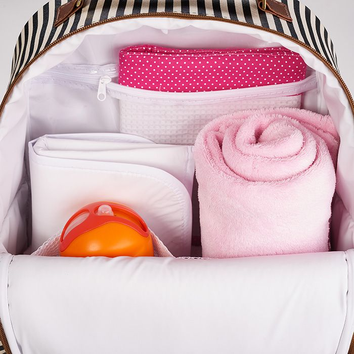 Kit Maternidade Mala, Bolsa, Mochila e Bolsa Pequena Térmica Liverpool