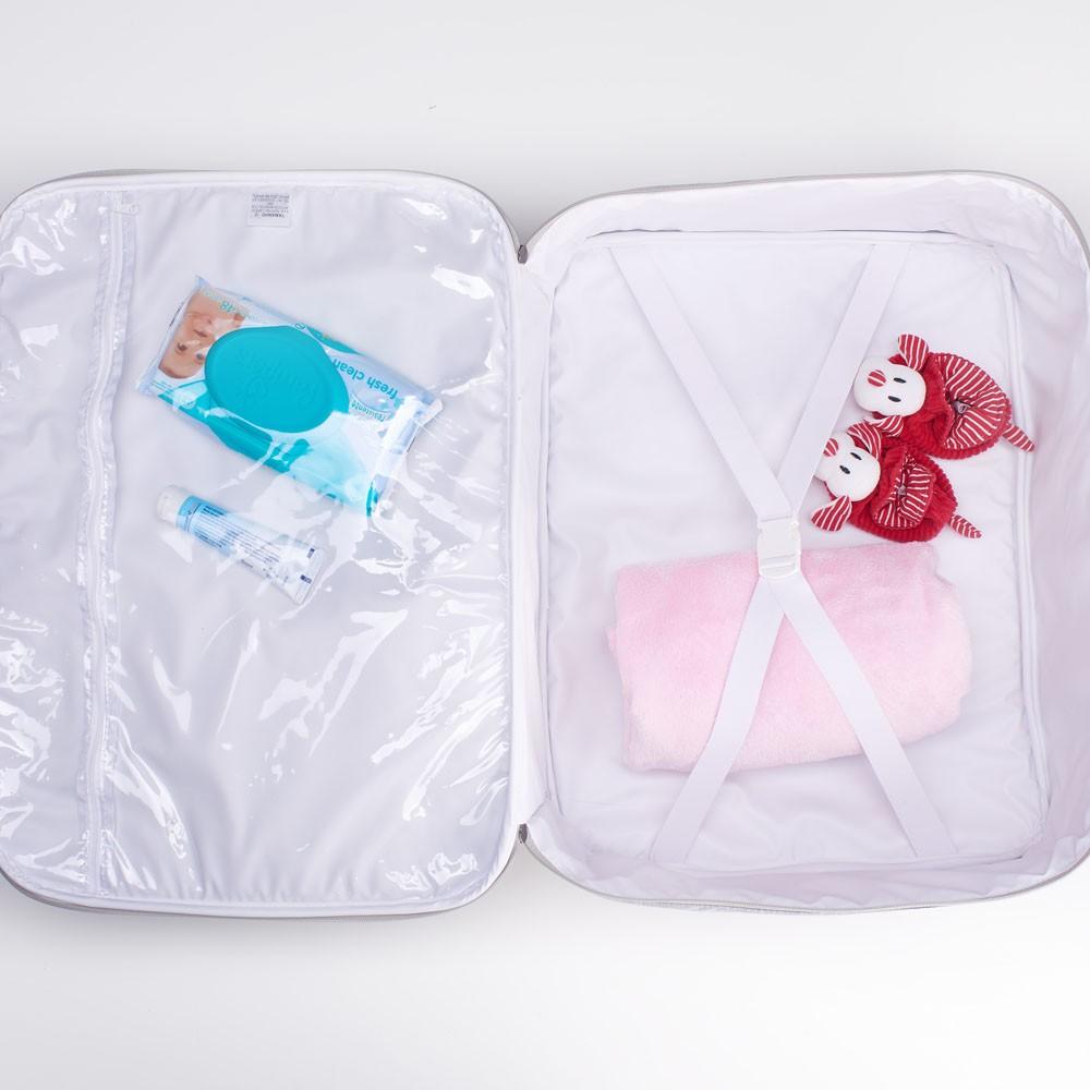 kit Mala Clássica, Bolsa e Frasqueira Térmica Just Baby