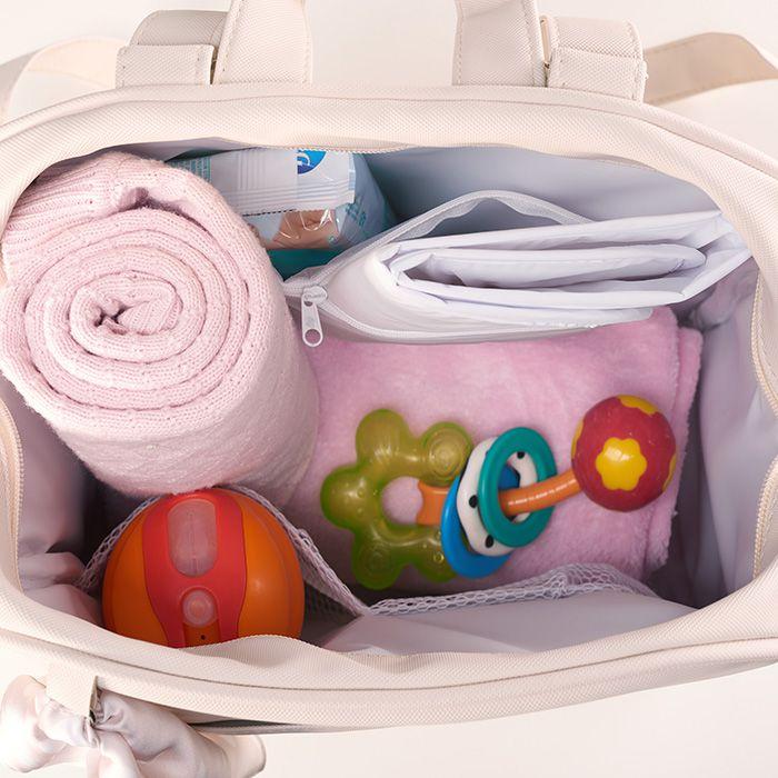 Kit Maternidade Mala, Bolsa, Mochila e Bolsa Térmica Pequena Candy Azul