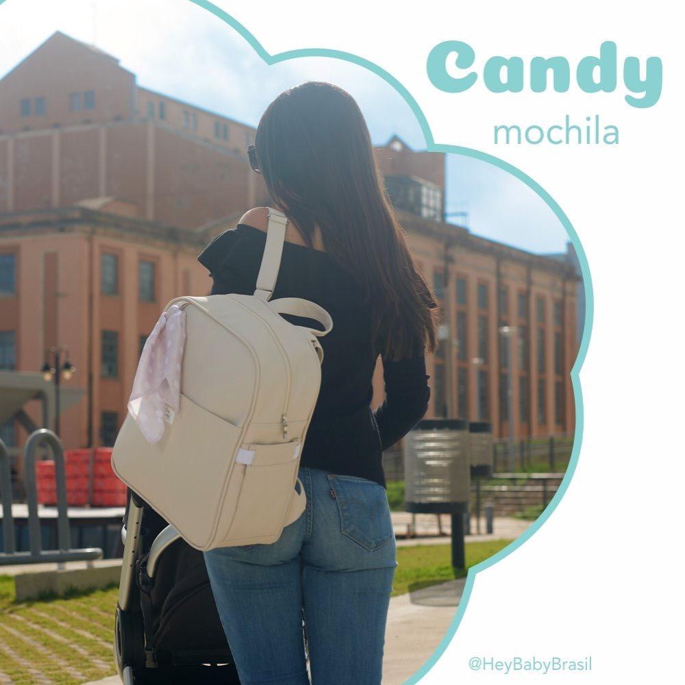 Mochila Maternidade Candy Azul Hey Baby