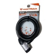 CADEADO X11 MAXTRAVA MX400 12 X1500MM PRETO